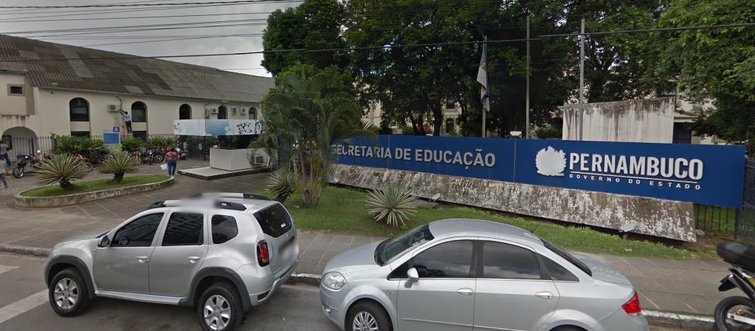 Sede da Secretaria de Educação de Pernambuco - Reprodução/Google Street View
